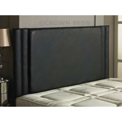 HILTON FAUX LEATHER HEADBOARD 4FT SMALL DOUBLE VARIOUS COLOURS