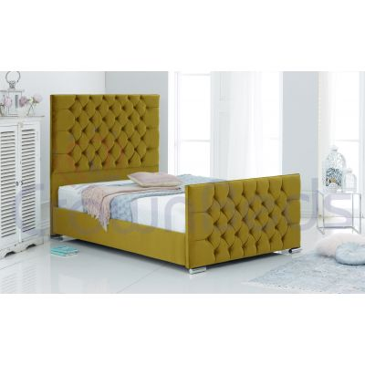 Florida sleigh bed